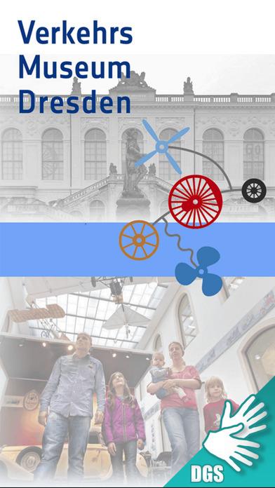 Verkehrsmuseum Dresden Gebärdensprache Screenshot