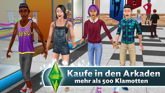 Screenshot 1 Die Sims™  FreePlay
