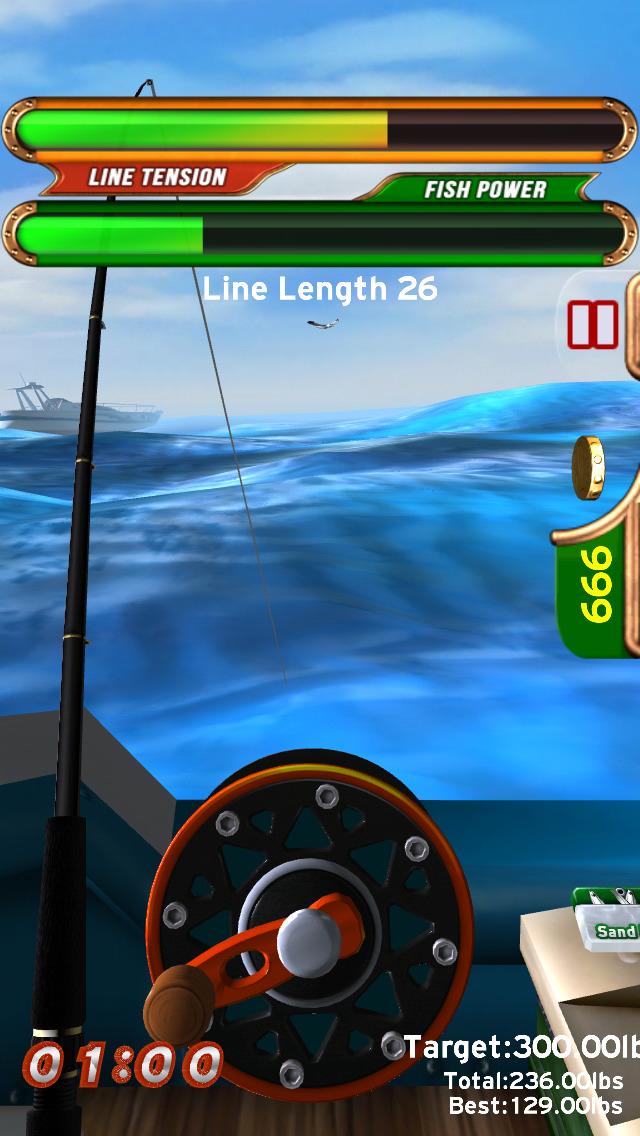 Fast Fishing iOS Screenshots