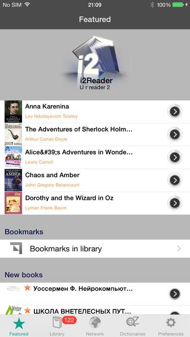 i2Reader Screenshot