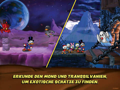 DuckTales: Remastered iOS Screenshots
