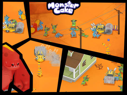 Monster Cake iOS Screenshots
