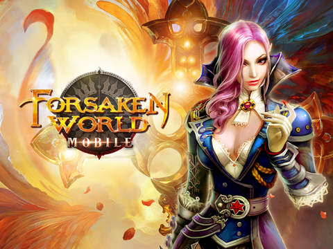 Forsaken World Mobile MMORPG iOS Screenshots