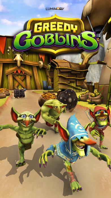 Greedy Goblins - Run of War Screenshot