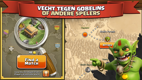 Clash of Clans iPhone app afbeelding 4