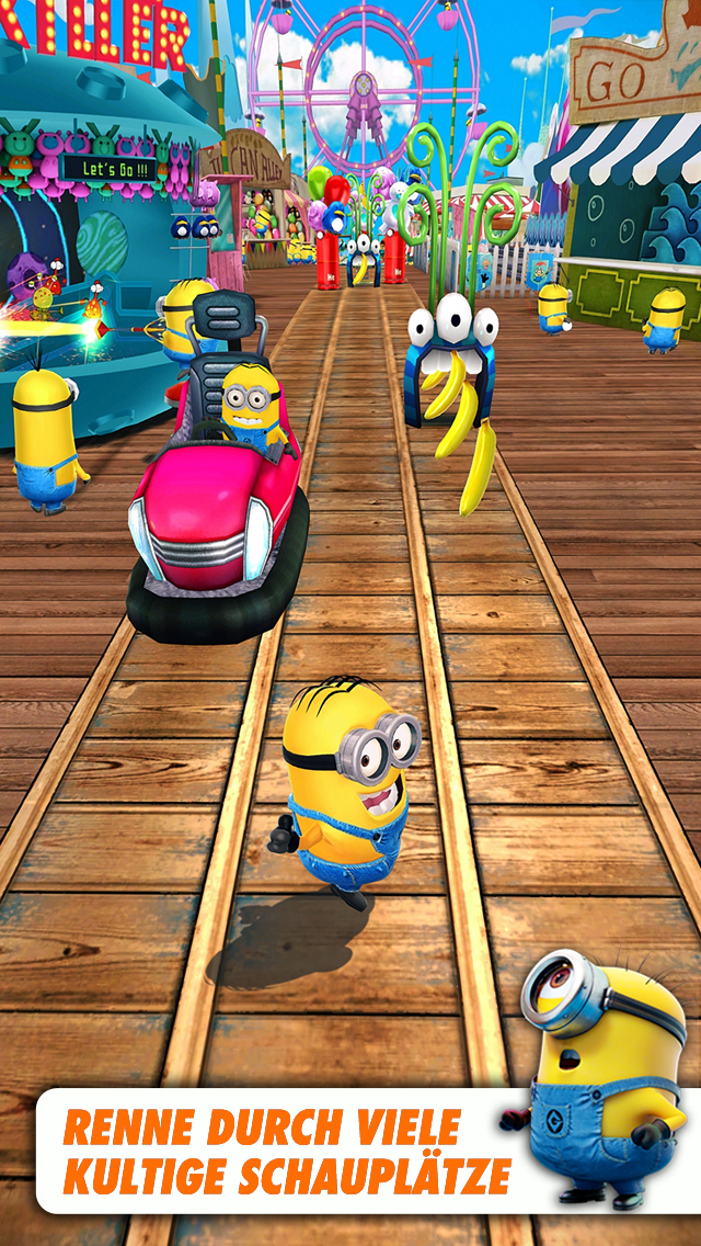Minion Rush iOS Screenshots