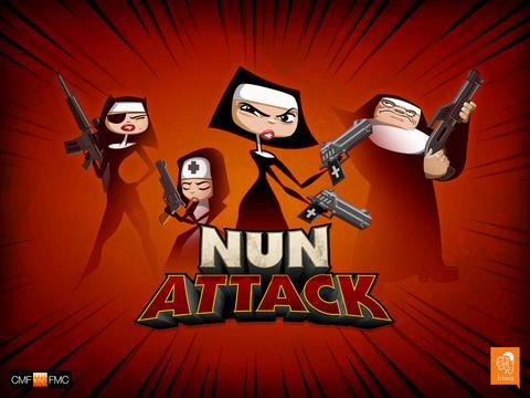 Nun Attack iOS Screenshots
