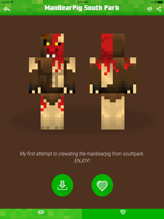 Skins For South Park Minecraft PE Edition Free Skin For Pocket - Skins para minecraft pe ipad