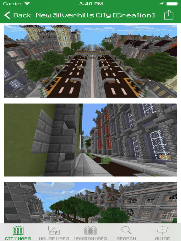 City Maps for Minecraft PE - Download free Maps & MineMaps for Pocket Edition Screenshots
