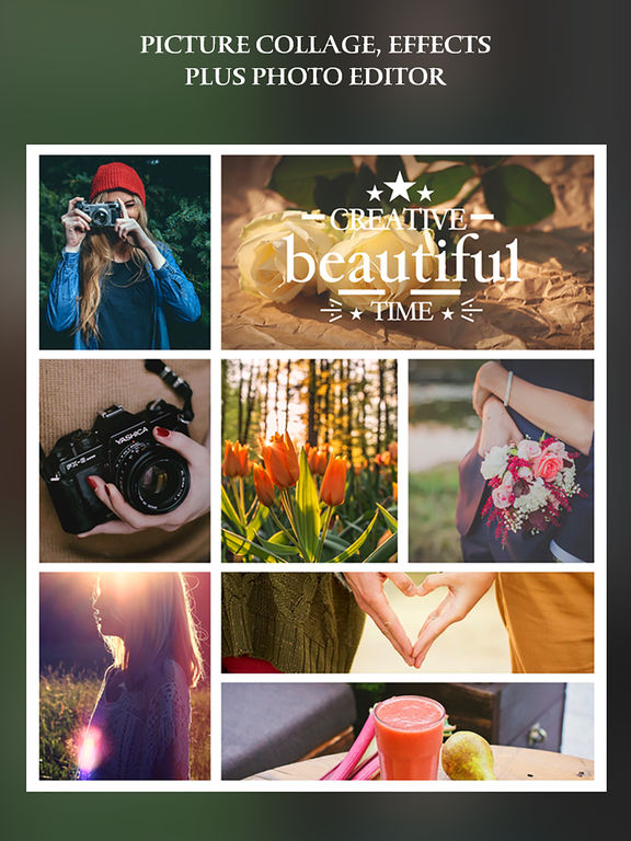 Einfache Collage Pro - Fotorahmen und PIP-Collage Maker Screenshot