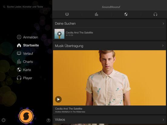 SoundHound ∞ Musik, Lieder & Songtexte Screenshot