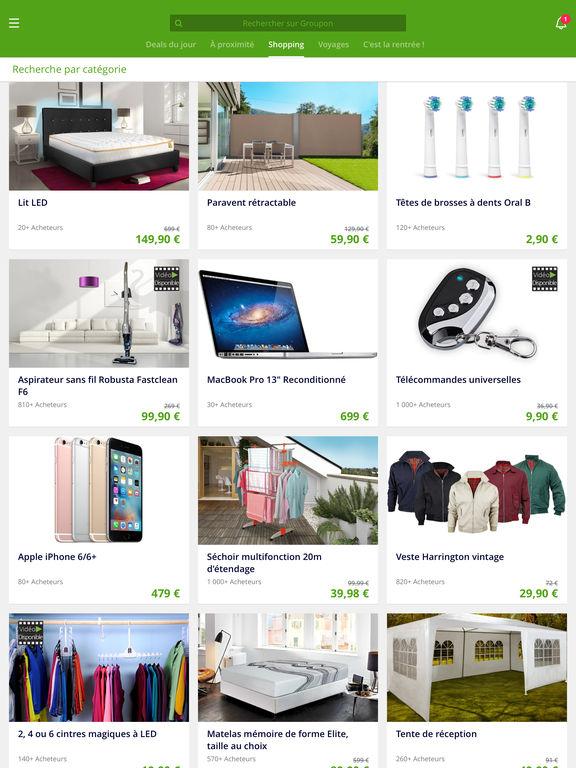 groupon deals codes promo et shopping dans l app store. Black Bedroom Furniture Sets. Home Design Ideas