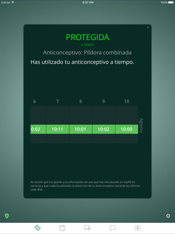 myPill® Recordatorio de Anticonceptivo Screenshot
