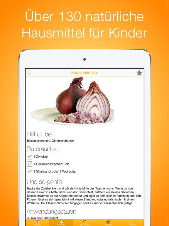 Hausmittel für Kinder PRO Screenshots