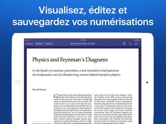 Scanner Pro - scan de document en PDF avec OCR Capture d'écran