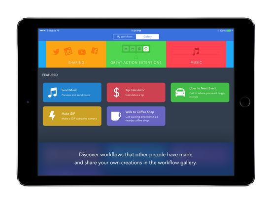 Workflow: Powerful Automation Made Simple Capture d'écran