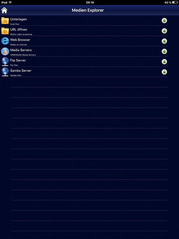 AcePlayer -Klassische Media Player Screenshot
