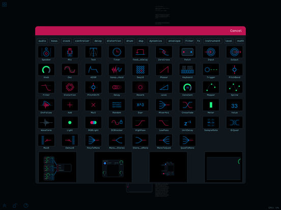 Audulus 3 Screenshot