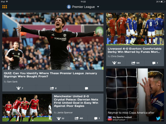 Live Football Scores, Results & Fixtures On The