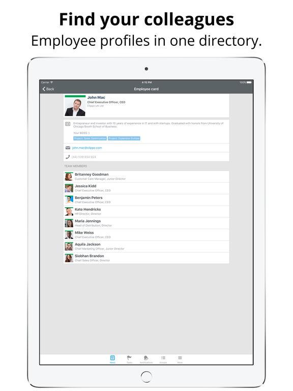 iPad — zrzut ekranu 3