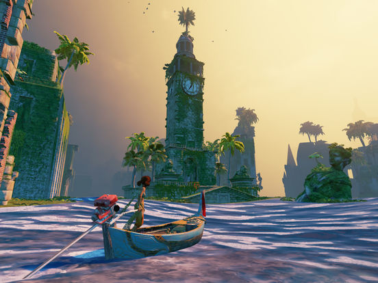 Screenshot 1 Submerged: Miku and the Sunken City