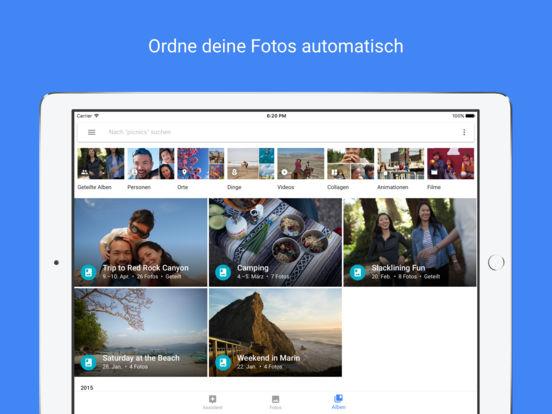 Google Fotos – kostenloser Speicher für Fotos und Videos Screenshot