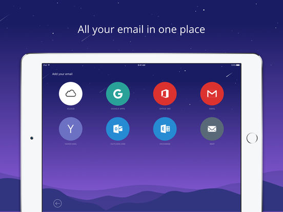 Newton Mail - Email for Gmail, Hotmail & Exchange Screenshot