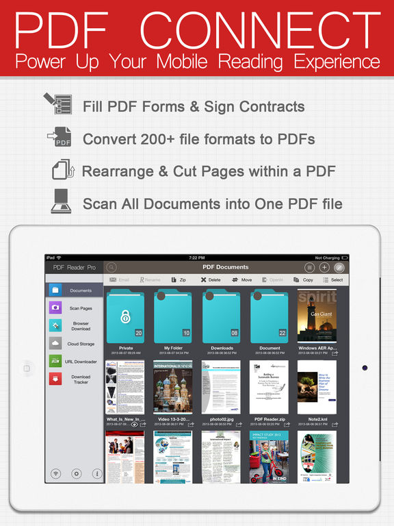 PDF Connect Suite - View, Annotate & Convert PDFs iPad