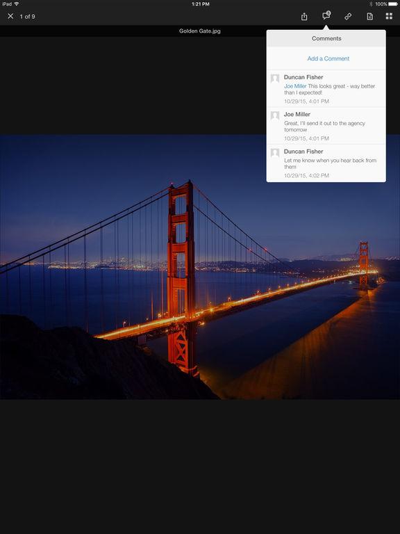 Box for iPhone and iPad Screenshot