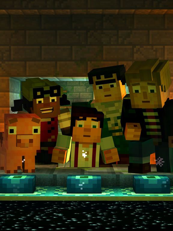 Minecraft: Story Mode Screenshot