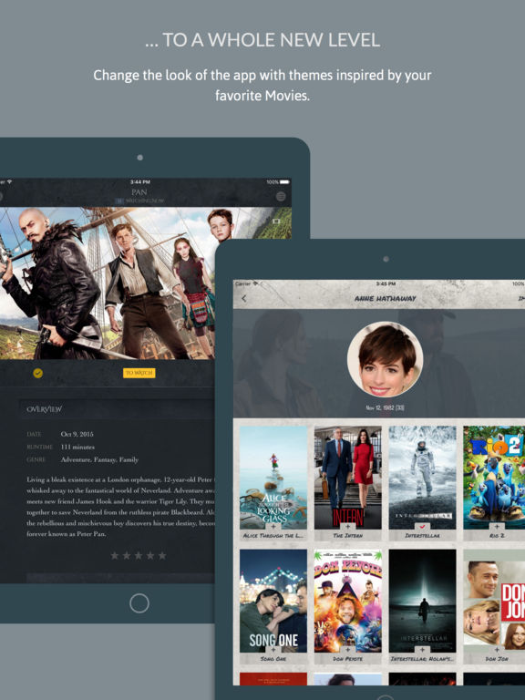 iShows Movies - Movie Tracker powered by Trakt.tv Screenshot