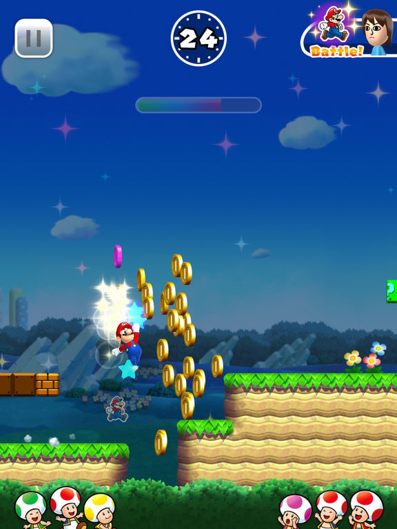 Super Mario Run iPhone iPad