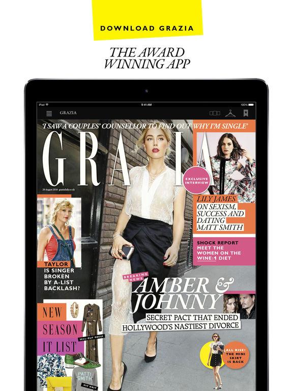 Grazia Magazine Uk Fashion News Beauty Tips Celebrity