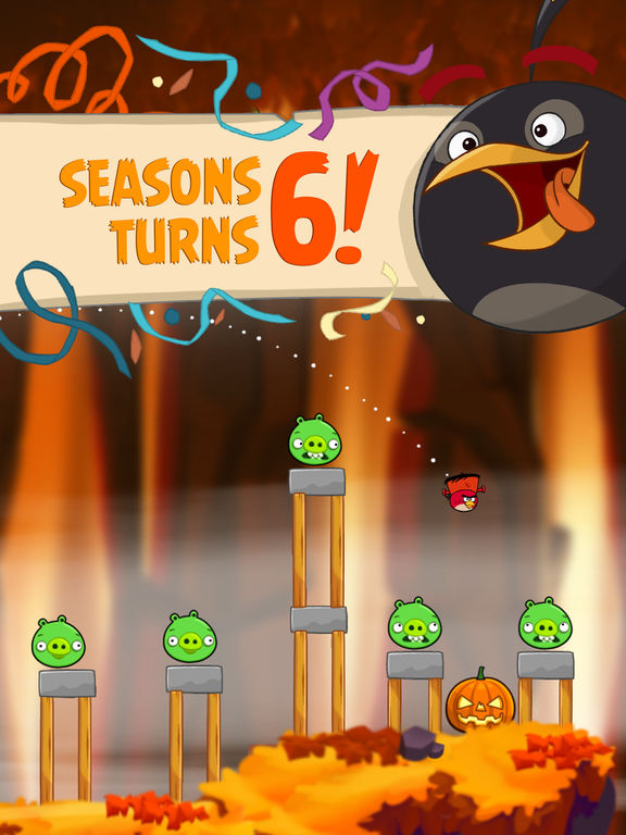 Angry Birds Seasons HD Screenshot