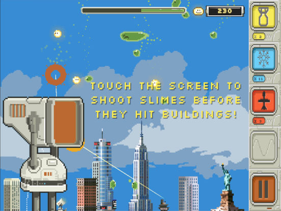 Slime-ball-istic Mr. Missile Screenshot
