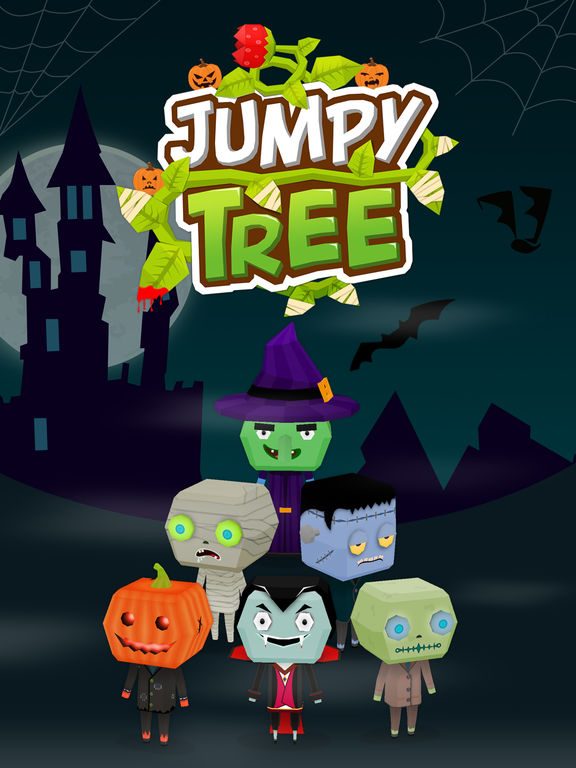 Jumpy Tree iOS Screenshots