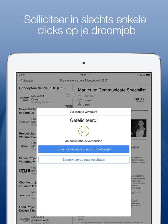 'StepStone Vacature en Jobs' in de App Store  Stepstone Nl Banen