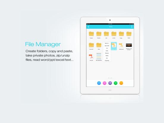 FileMaster - Dateimanager und Datenschutz Screenshot