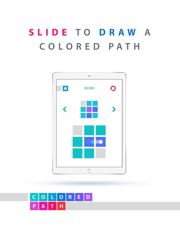 Colored Path· Screenshots