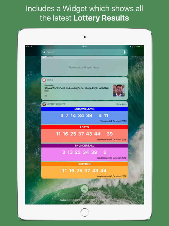 lotto app scanner