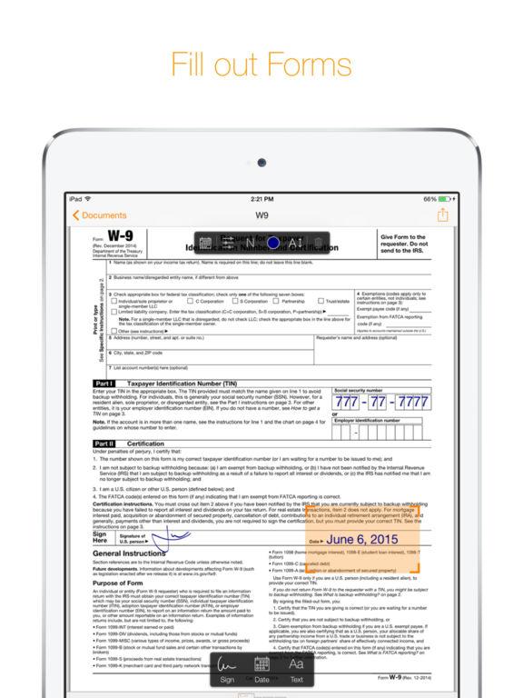 Genius Sign - Annotate PDF Documents Screenshots