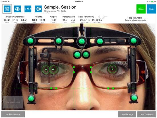 OptikamPad Screenshot