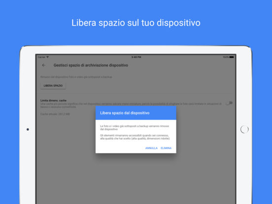 Google Foto - foto gratis e memorizzazione video Screenshot