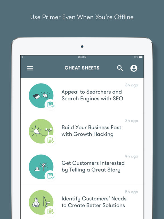 Google Primer – Learn Marketing, Fast Screenshot
