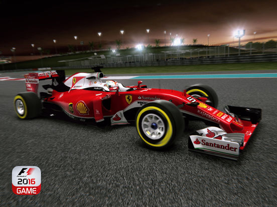 F1 2016 iOS Screenshots