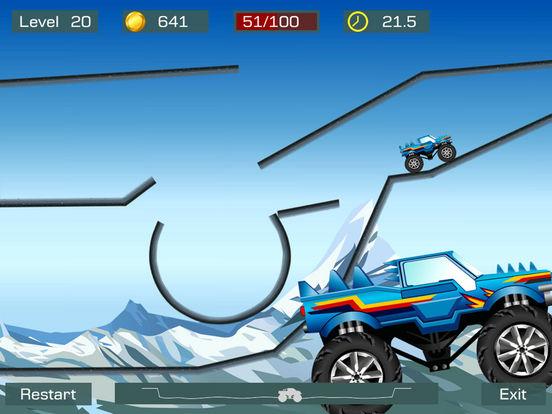 Monster Stunts iPad