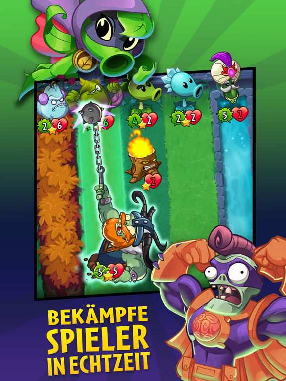 Plants vs. Zombies™ Heroes iOS Screenshots