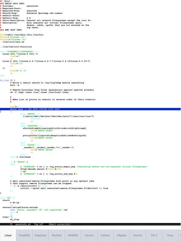 Serverauditor - SSH Shell / Console / Terminal Screenshot