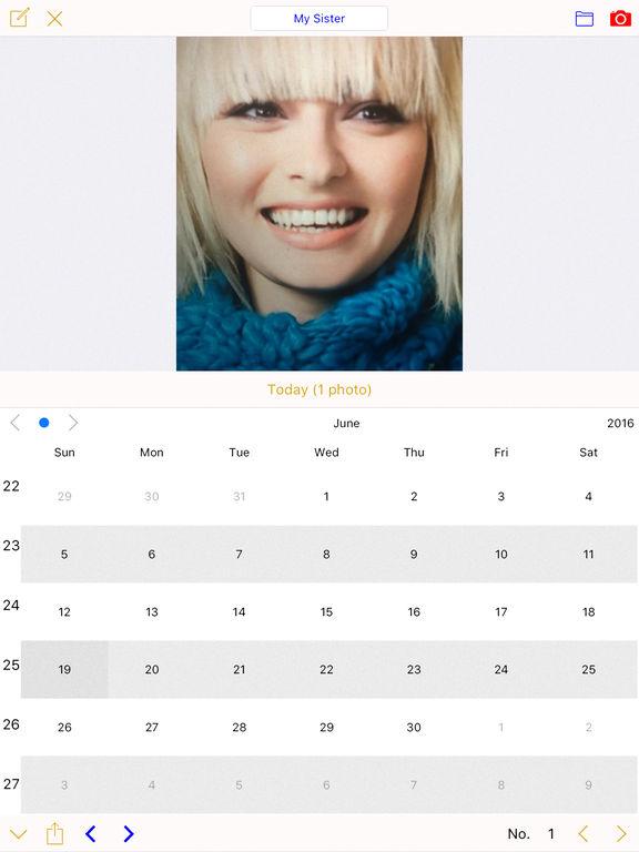 Foto-Kalender Photo Calendar (Paid) Screenshot