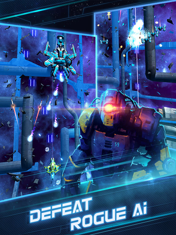 Screenshot 1 Photon Strike: Galaxy Shooter